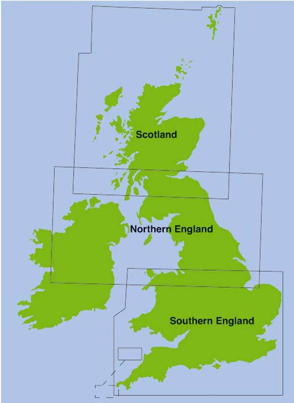 1/5 mill Map for UK please specify area required
