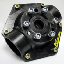 Complete two-blade hub, 2 strokes